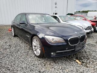 Salvage cars for sale from Copart Windsor, NJ: 2011 BMW Alpina B7