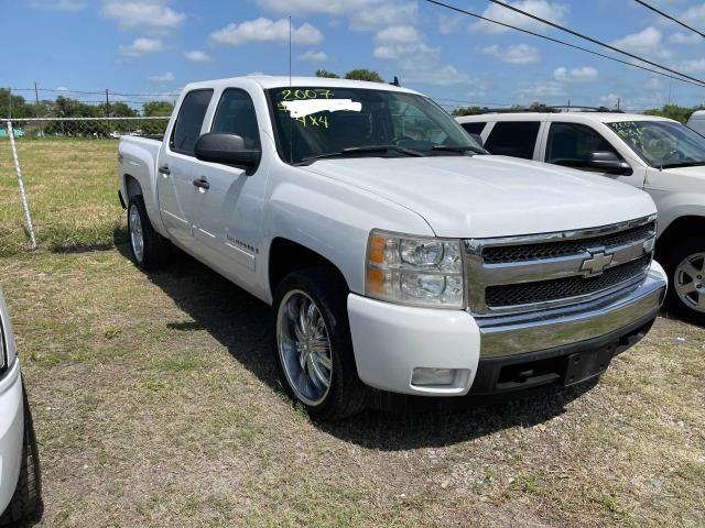 Salvage cars for sale from Copart Mercedes, TX: 2007 Chevrolet Silverado