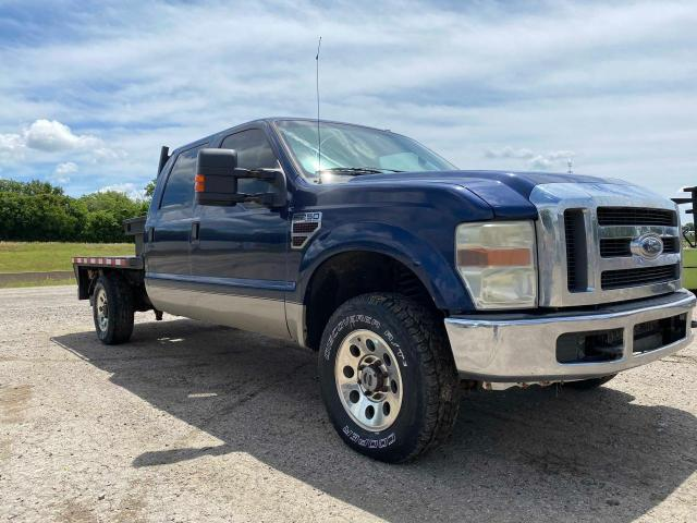Salvage cars for sale from Copart Haslet, TX: 2008 Ford F250 Super
