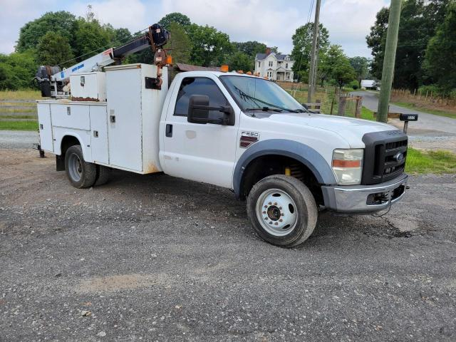 Salvage cars for sale from Copart Chatham, VA: 2008 Ford F550 Super