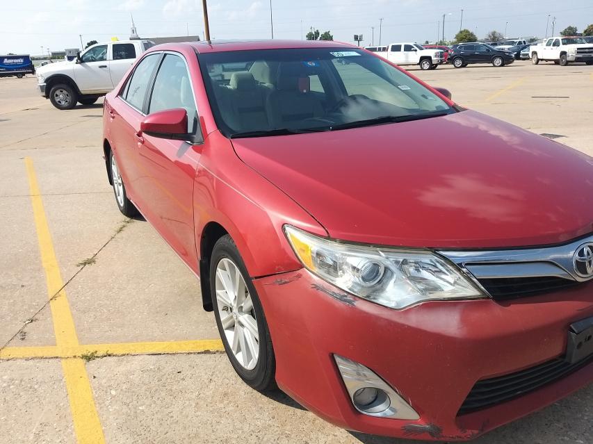 Vehiculos salvage en venta de Copart Oklahoma City, OK: 2014 Toyota Camry L