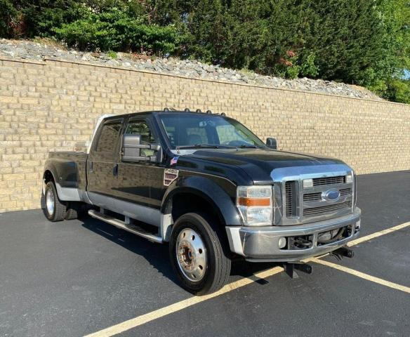Salvage cars for sale from Copart Mendon, MA: 2008 Ford F450 Super