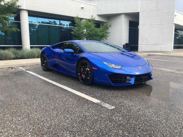 Lamborghini salvage cars for sale: 2017 Lamborghini Huracan
