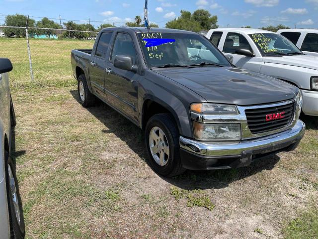 Salvage cars for sale from Copart Mercedes, TX: 2009 GMC Canyon