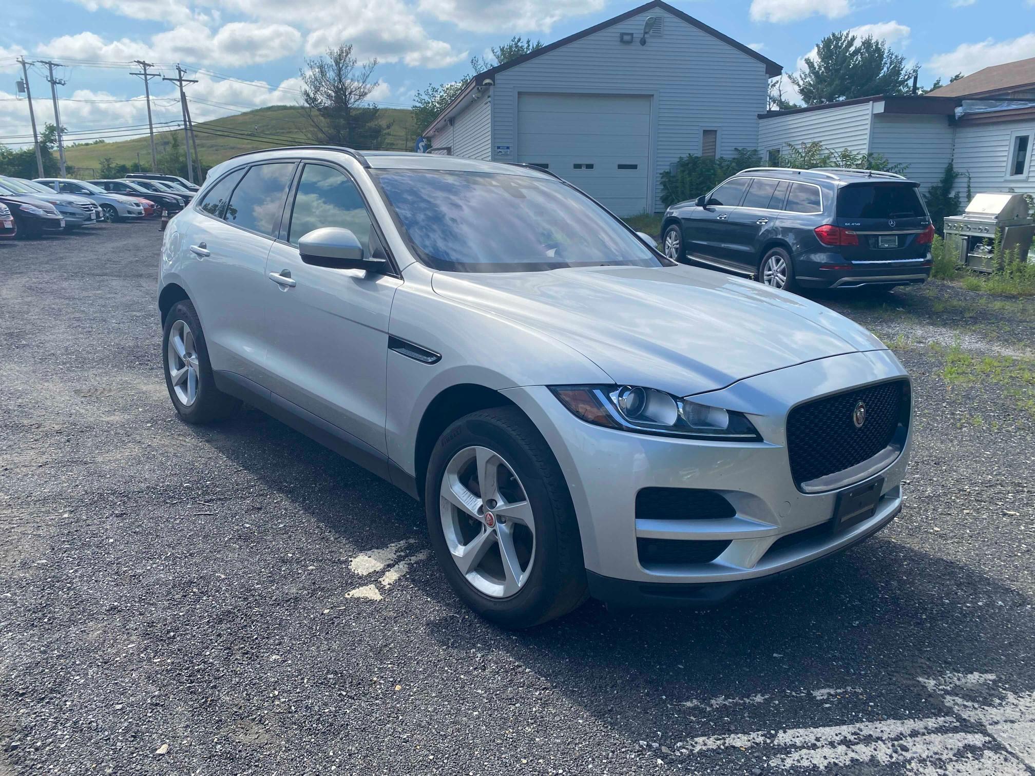 Jaguar salvage cars for sale: 2017 Jaguar F-PACE Premium