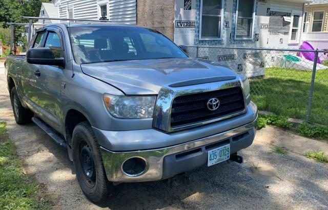Salvage trucks for sale at Candia, NH auction: 2008 Toyota Tundra DOU