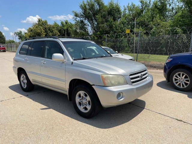 Vehiculos salvage en venta de Copart Oklahoma City, OK: 2003 Toyota Highlander