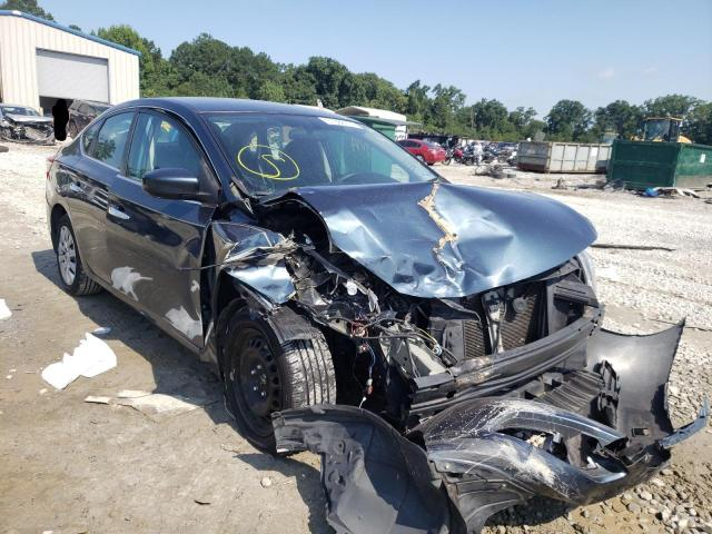 Salvage cars for sale from Copart Ellenwood, GA: 2014 Nissan Sentra S