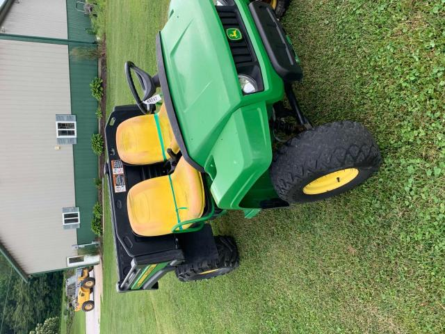 Salvage motorcycles for sale at Columbia Station, OH auction: 2014 John Deere Gator 4X2