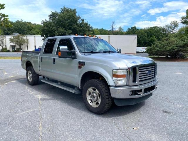 Salvage cars for sale from Copart Mendon, MA: 2010 Ford F350 Super