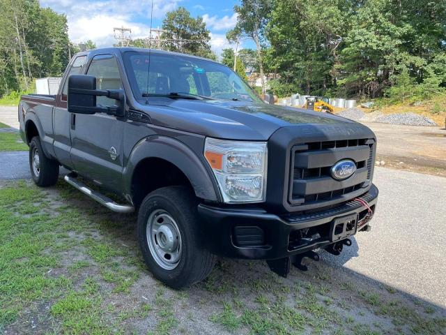Salvage cars for sale from Copart North Billerica, MA: 2011 Ford F250 Super