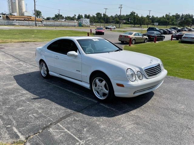 Vehiculos salvage en venta de Copart Oklahoma City, OK: 2001 Mercedes-Benz CLK 430