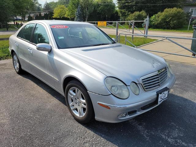 Salvage cars for sale at Elgin, IL auction: 2005 Mercedes-Benz E 320 4matic