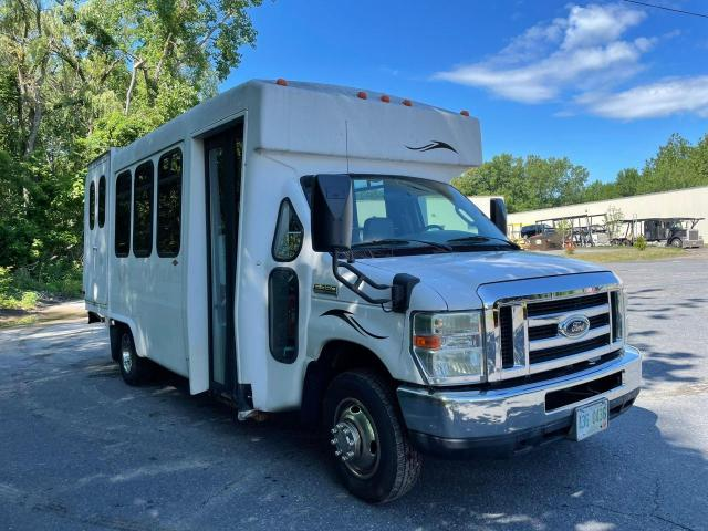 Salvage cars for sale from Copart Mendon, MA: 2008 Ford Econoline