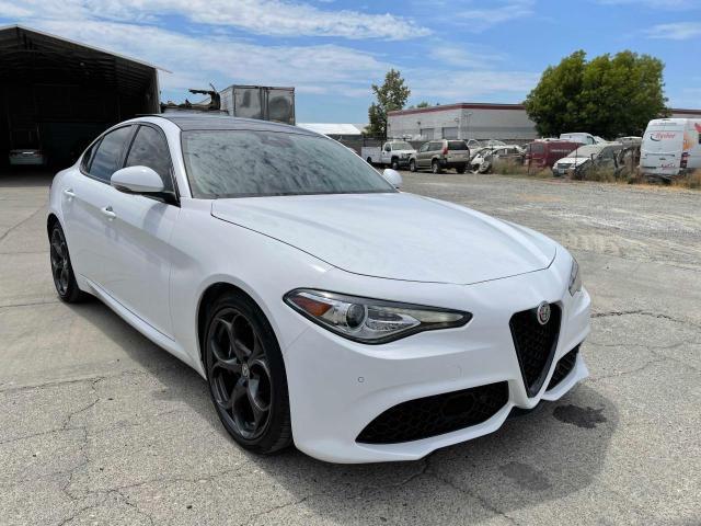 Alfa Romeo salvage cars for sale: 2019 Alfa Romeo Giulia TI