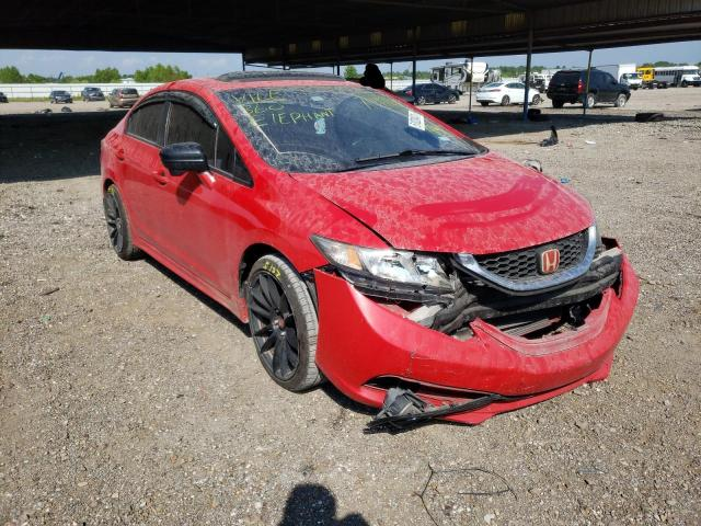 Salvage cars for sale from Copart Houston, TX: 2014 Honda Civic SI