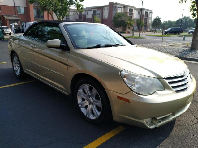Salvage cars for sale from Copart Brighton, CO: 2010 Chrysler Sebring TO