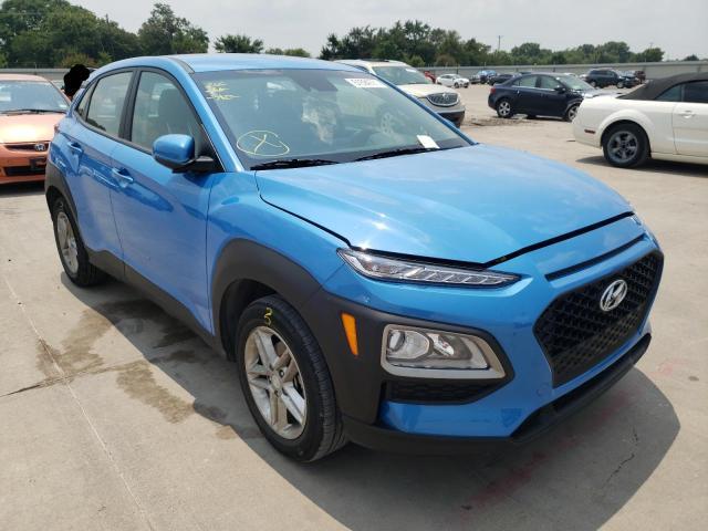 Vehiculos salvage en venta de Copart Wilmer, TX: 2021 Hyundai Kona SE