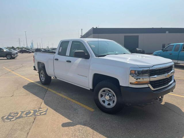 Salvage trucks for sale at Oklahoma City, OK auction: 2017 Chevrolet Silverado