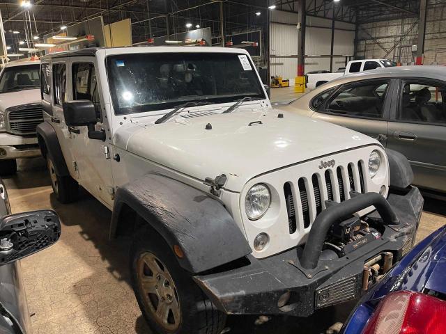 Vehiculos salvage en venta de Copart Oklahoma City, OK: 2016 Jeep Wrangler U