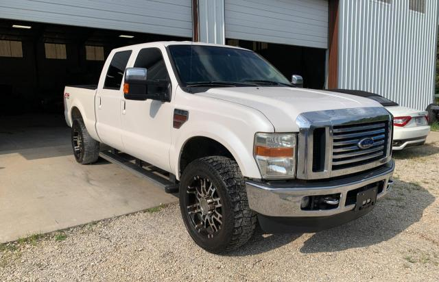 Salvage trucks for sale at Rogersville, MO auction: 2010 Ford F250 Super