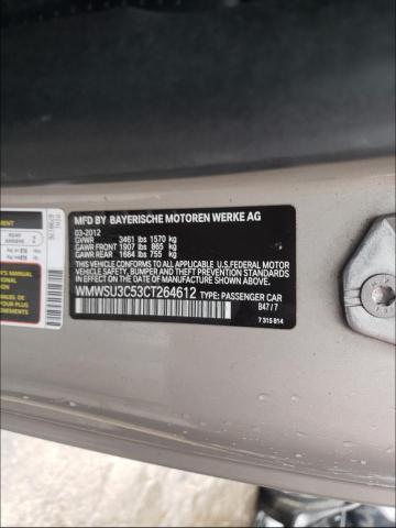 2012 MINI COOPER WMWSU3C53CT264612