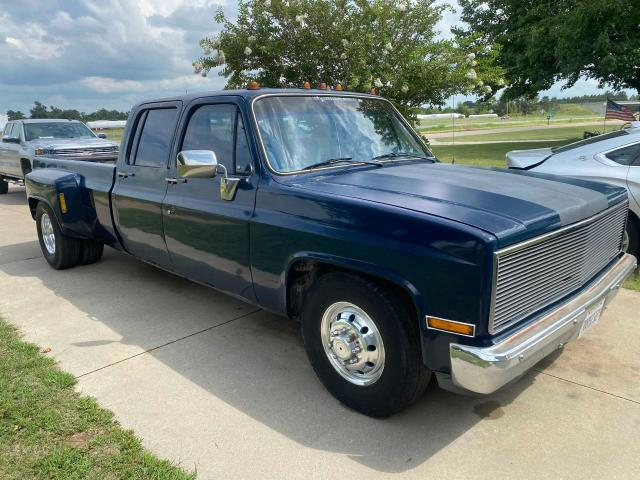 Salvage trucks for sale at Sikeston, MO auction: 1986 Chevrolet C30