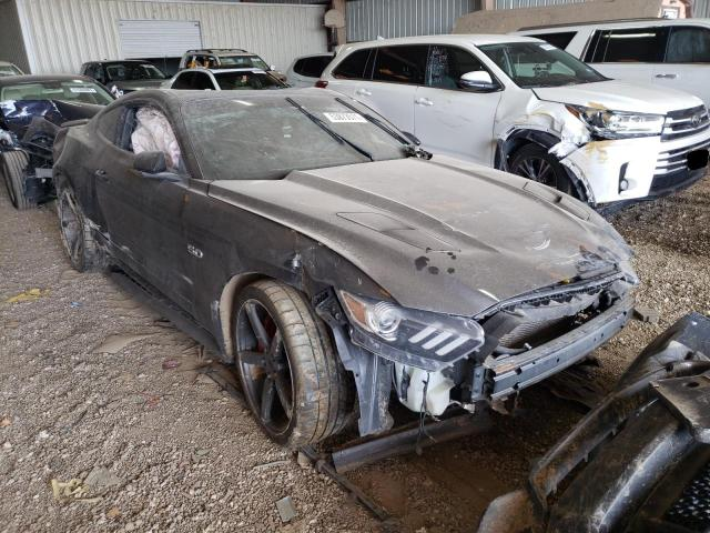 Salvage cars for sale from Copart Houston, TX: 2015 Ford Mustang GT