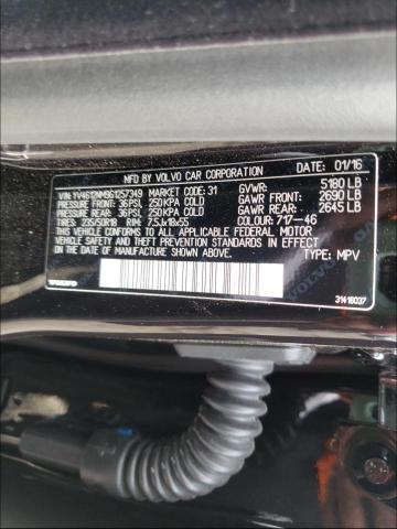 2016 VOLVO XC70 T5 PL YV4612NM9G1257349