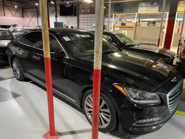 Salvage cars for sale at Oklahoma City, OK auction: 2015 Hyundai Genesis 5