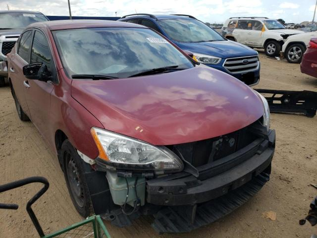 Salvage cars for sale from Copart Houston, TX: 2015 Nissan Sentra S
