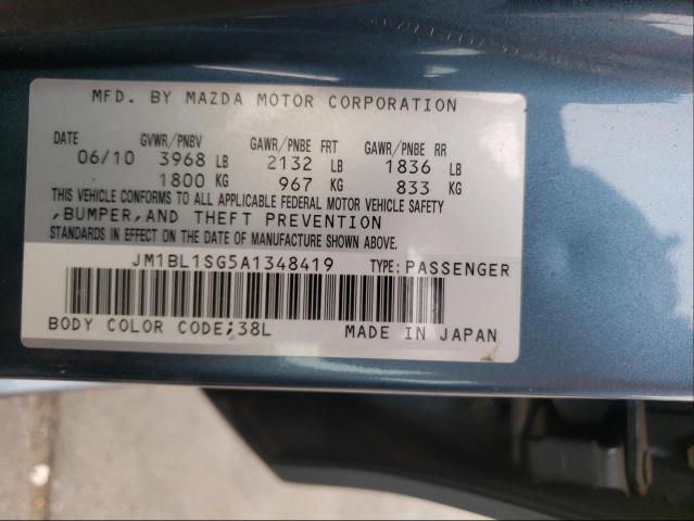 2010 MAZDA 3 I JM1BL1SG5A1348419