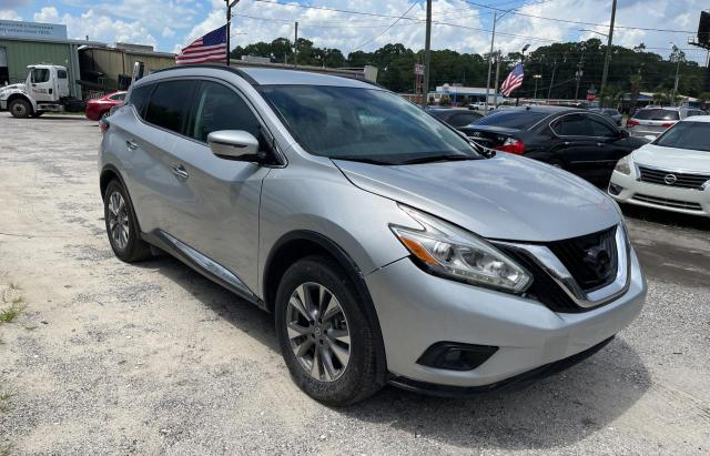 Vehiculos salvage en venta de Copart Jacksonville, FL: 2018 Nissan Murano S