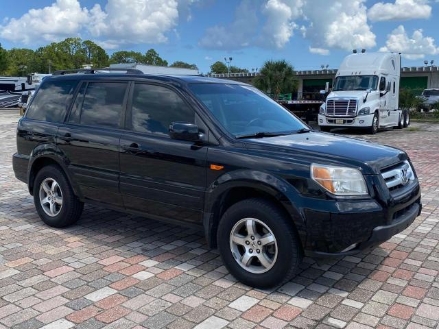 Vehiculos salvage en venta de Copart Jacksonville, FL: 2007 Honda Pilot EXL