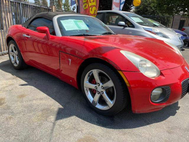 Salvage cars for sale from Copart Bakersfield, CA: 2007 Pontiac Solstice G