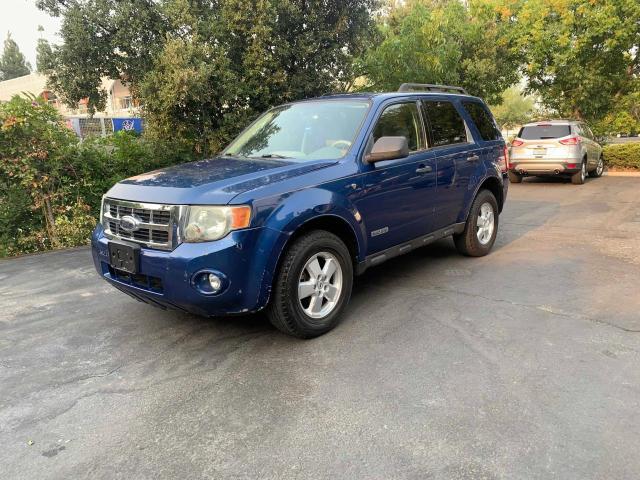 Vehiculos salvage en venta de Copart Martinez, CA: 2008 Ford Escape XLT