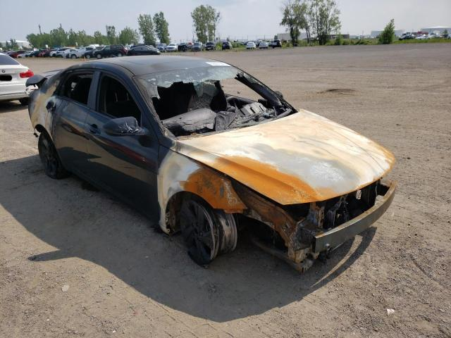 Salvage cars for sale from Copart Montreal Est, QC: 2021 Hyundai Elantra SE