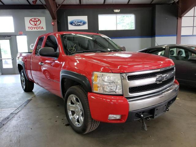 Salvage cars for sale from Copart Madisonville, TN: 2007 Chevrolet Silverado