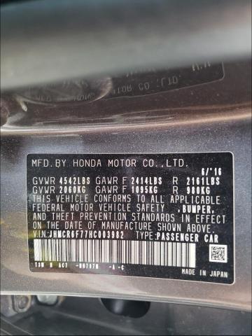 2017 HONDA ACCORD TOU JHMCR6F77HC003982