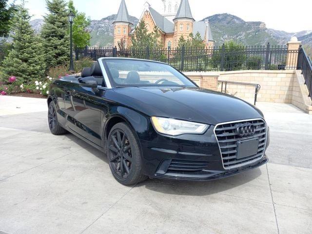 Salvage cars for sale at Magna, UT auction: 2015 Audi A3 Premium