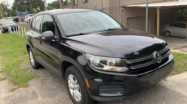 Vehiculos salvage en venta de Copart Jacksonville, FL: 2013 Volkswagen Tiguan S