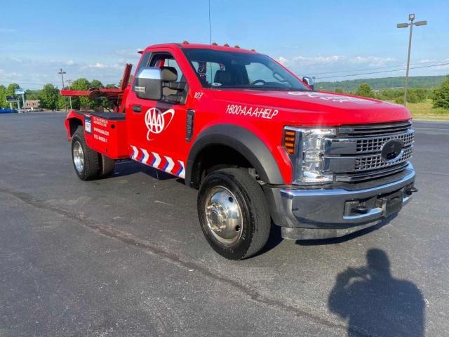 Salvage cars for sale from Copart Madisonville, TN: 2019 Ford F450 Super