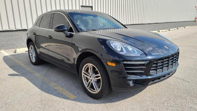 Salvage cars for sale from Copart Wheeling, IL: 2015 Porsche Macan S