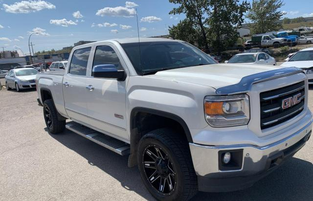 Salvage cars for sale from Copart Rocky View County, AB: 2014 GMC Sierra K15