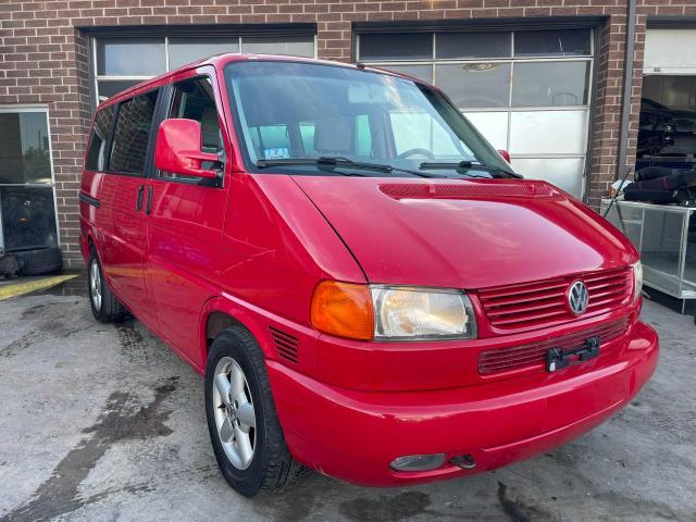 Vehiculos salvage en venta de Copart Colorado Springs, CO: 2002 Volkswagen Eurovan MV