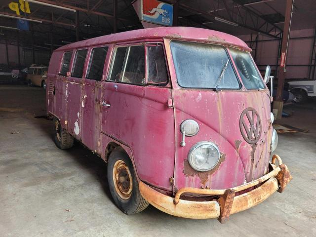 Salvage cars for sale from Copart Lebanon, TN: 1966 Volkswagen Bus