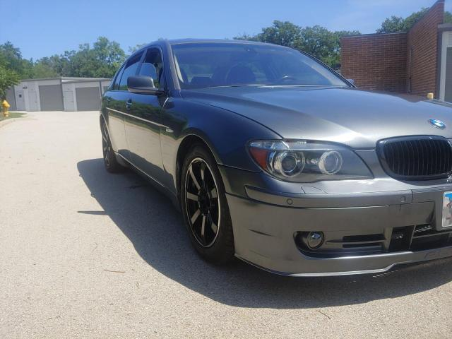 Salvage cars for sale from Copart Elgin, IL: 2006 BMW 750 LI