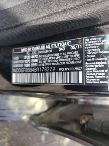 2011 MERCEDES-BENZ C 300 4MATIC