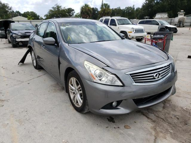 Salvage cars for sale from Copart Punta Gorda, FL: 2013 Infiniti G37 Base