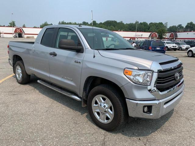 Salvage cars for sale from Copart Candia, NH: 2014 Toyota Tundra DOU